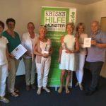 Abgeordnete der CDU besuchen die Krisenhilfe Münster e. V.