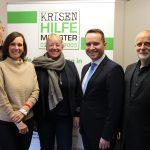 Start der neuen Ausbildungsgruppe dank der Werte-Stiftung-Münsterland